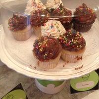 Photo taken at Cupcake Shoppe by Amber H. on 9/1/2012
