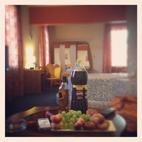 Photo taken at Maxima Irbis hotel / Максима Ирбис отель by Игорь Г. on 8/3/2012