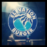 Photo taken at Elevation Burger by Boris on 6/3/2012