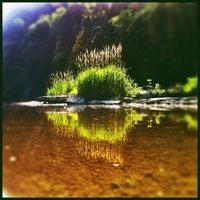 Photo taken at Flat Rock by Daniel L. on 7/8/2012