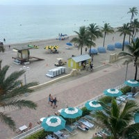 Photo taken at Marriott Hollywood Beach by Bruce B. on 5/19/2012