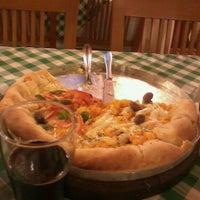 Photo taken at Casa da Pizza by Rafaela S. on 8/23/2012