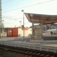 Photo taken at Bahnhof Bad Wilsnack by Robert S. on 4/13/2012