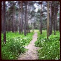 Photo taken at Vabaduse park by Ingvar P. on 6/16/2012