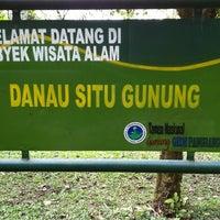 Photo taken at Danau Situgunung by Tjuntaraga on 3/24/2012