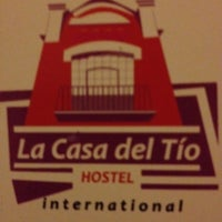 Photo taken at Hostel La Casa del Tío by A. Toshiro A. on 4/29/2012
