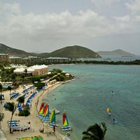 Photo taken at The Ritz-Carlton, St. Thomas by Michelle F. on 8/11/2012