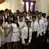 Photo taken at GKI Kebayoran Baru by sabrina n. on 3/18/2012
