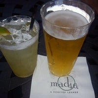 Photo taken at Mad 46 Rooftop Lounge by Miguel on 8/4/2012