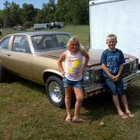 Photo taken at Dragway 42 by Angela P. on 7/22/2012