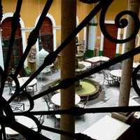 Photo taken at Hotel San Francisco Plaza by Rosendita L. on 8/26/2012