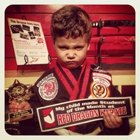 Photo taken at Red Dragon Karate by Zack S. on 5/29/2012
