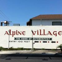 Photo taken at Alpine Village Market by Edwin K. on 8/1/2012