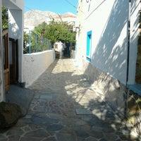 Photo taken at Telendos Island by Sofia K. on 8/25/2012
