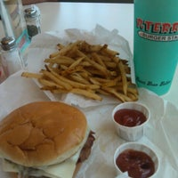 Photo taken at P. Terry's Burger Stand by Madison S. on 7/30/2012