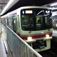 Photo taken at Shinjuku Line Shinjuku Station (S01) by Hiroaki J. on 8/18/2012