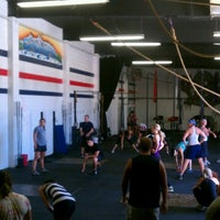 Photo taken at South Tahoe Crossfit by Nicole W. on 7/6/2012