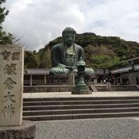 Photo taken at Great Buddha of Kamakura by Isao N. on 8/4/2012