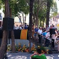Photo taken at Plaça 11 de Setembre by Montserrat C. on 9/11/2012