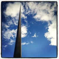 Photo taken at The Spire of Dublin by Bryan H. on 7/30/2012