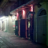 Photo taken at Tony Seville's Pirates Alley Cafe & Old Absinthe House by Patrick R. on 5/1/2012