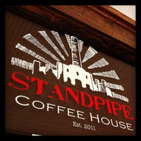 Photo taken at Standpipe Coffee House by Josh H. on 7/13/2012