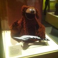 Photo taken at Jim Henson's Fantastic World exhibit by MaKenzie M. on 3/2/2012