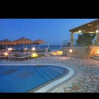 Photo taken at Hotel Mikros Paradisos Sivota by Theodosis L. on 6/15/2012