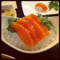 Photo taken at Sushi Wabi by Christine A. on 6/19/2012