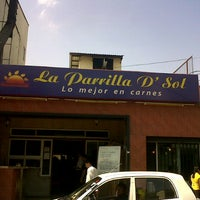 Photo taken at La Parrilla D' Sol by Christian O. on 9/13/2012
