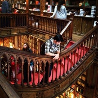 Photo taken at Livraria Lello by Doris C. on 7/13/2012