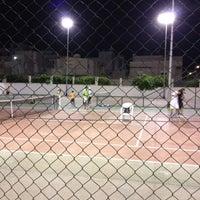 Photo taken at Tennis Club Boumhel by Badreddine H. on 8/2/2012