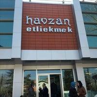 Photo taken at Havzan Etli Ekmek 3 by Sebi B. on 3/18/2012