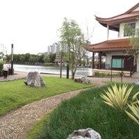 Photo taken at Friendship Park (Taman Sahabat) (馬中公園) by Shirley V. on 3/8/2012