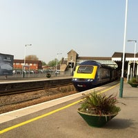 Photo taken at Weston-super-Mare Railway Station (WSM) by John T. on 5/27/2012
