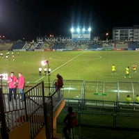 Photo taken at Stadium Sultan Ismail Nasiruddin Shah by Pena K. on 3/27/2012