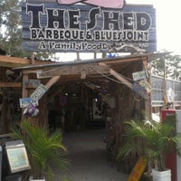 Photo taken at The Shed Barbeque and Blues Joint by Terri I. on 7/13/2012