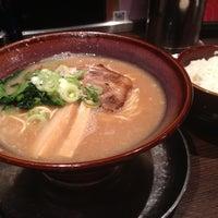 Photo taken at 光麺 六本木店 by Akira K. on 8/13/2012