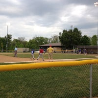 Photo taken at South Lexington Youth Baseball by Sarci E. on 4/28/2012