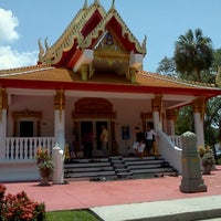 Photo taken at Wat Mongkolratanaram Buddhist Temple by Lauren P. on 7/1/2012