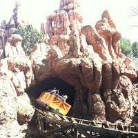 Photo taken at Big Thunder Mountain Railroad by Eric G. on 3/21/2012