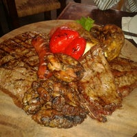 Photo taken at Asado Del Valle by Carlos A. on 8/21/2012