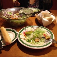 Photo taken at Olive Garden by Angel P. on 9/10/2012
