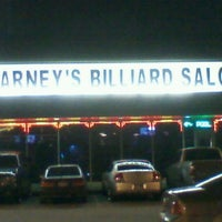 Photo taken at Barney's Billiards Saloon by Mary T. on 4/15/2012
