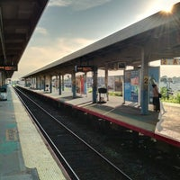 Photo taken at LIRR - Hicksville Station by Derek S. on 7/11/2012
