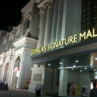 Photo taken at Gopalan Signature Mall by Mansur R. on 3/18/2012