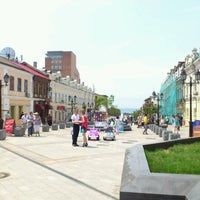 Photo taken at Приморский Арбат by Константин Б. on 7/8/2012