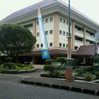 Photo taken at REKTORAT UII by Ujwalita A. on 5/7/2012