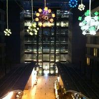 Photo taken at Hilton Frankfurt Airport by Oleg M. on 5/29/2012