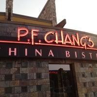 Photo taken at P.F. Chang's by Jon B. on 4/4/2012